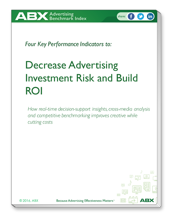 """ABX eBook """"Four KPIs to Decrease Advertising Risk and Build ROI"""""""
